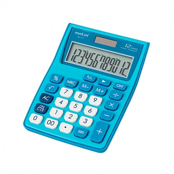 CALCULADORA DE BOLSO 12 Dígitos MC 2211