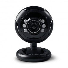 WEBCAM PLUGEPLAY 16MP NIGHTVISION MIC USB PRETO - WC045