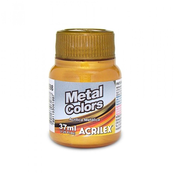 TINTA METAL COLORS DOURADO SOLAR 37ML