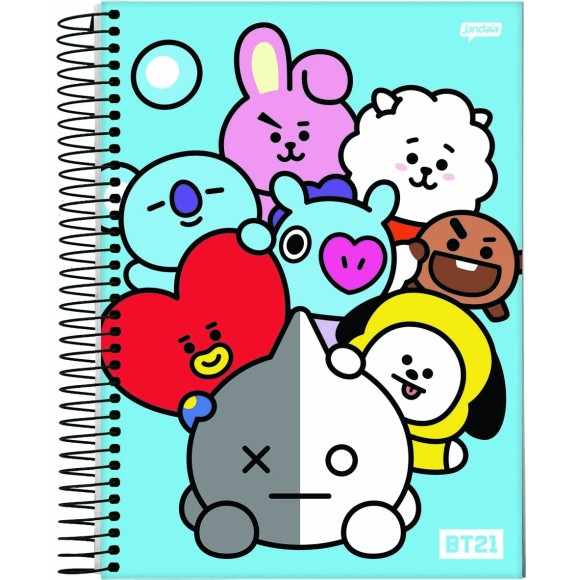 CADERNO UNIVERSITÁRIO BT21 10MT.