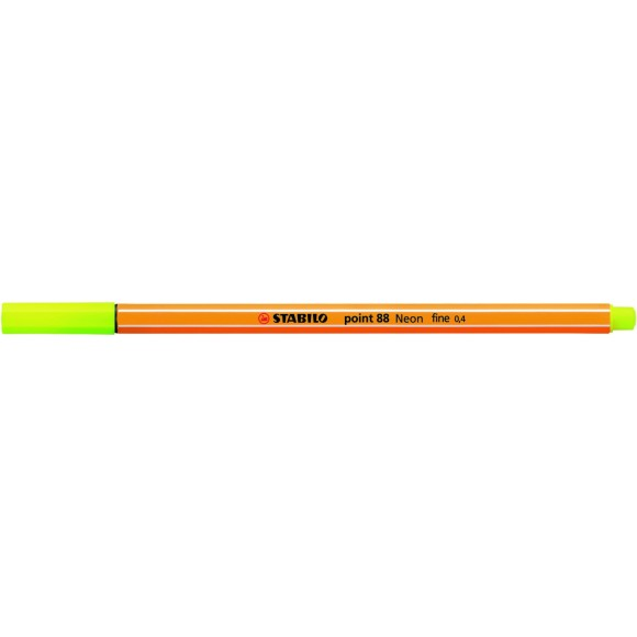 STABILO POINT0.4MM AMARELO NEON 88/24