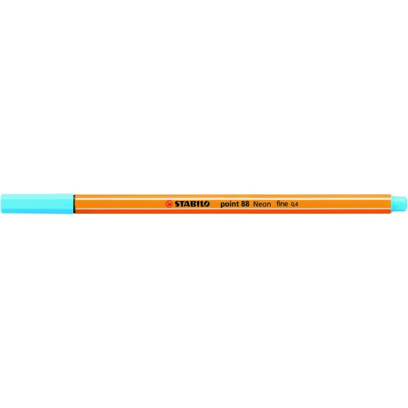 STABILO POINT 0.4MM AZUL NEON 88/031
