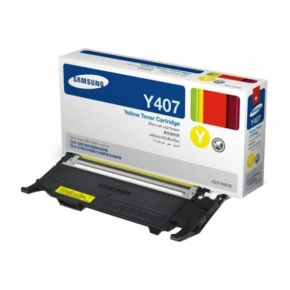 Toner Samsung Y407s Yellow Original