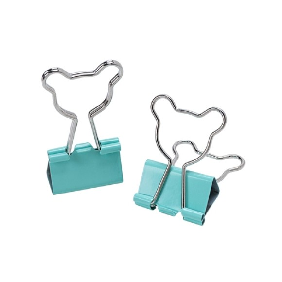 BINDER CLIPS 25MM LOVE URSO 4 UNIDADES MOLIN