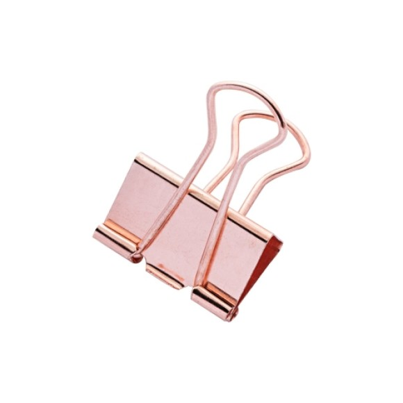 BINDER CLIPS 25MM 7 UNIDADES MOLIN ROSE