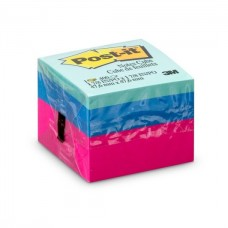 Bloco de Notas Adesivas Post-it Cubo Ultra 47,6 mm x 47,6 mm - 400 folhas